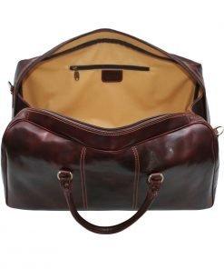 leder reisetaschen reisetaschen leder braun made in italy