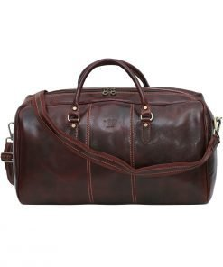 leder reisetaschen reisetaschen leder braun made in italy fantini pelletteria