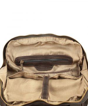 leder rucksack herren braun laptopfach leder city rucksack