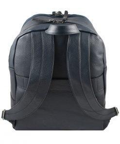 leder rucksack marineblau italienisches design