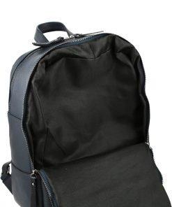 leder rucksack marineblau italienisches design mode