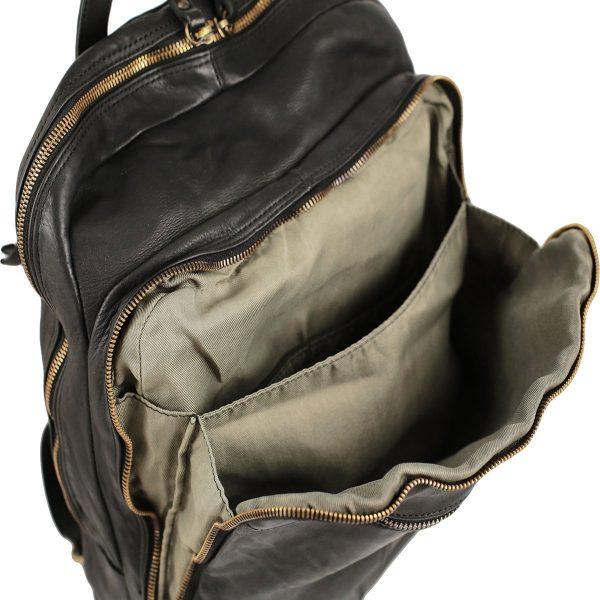 leder rucksack schwarz Business Rucksack