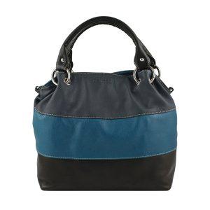 lederhandtasche dunkelblau