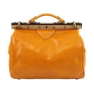 ledertasche arzttasche umhängetasche gelbe tasche gelb