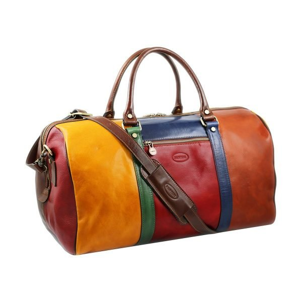 reisetasche aus leder fantasie fantini made in italy
