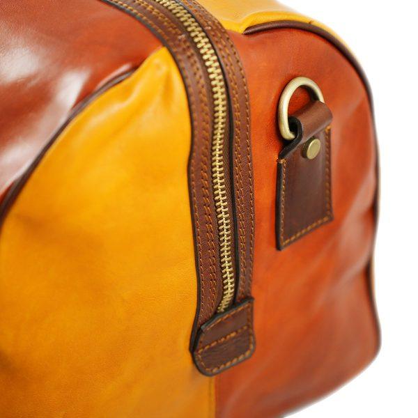 reisetasche aus leder fantasie made in italy