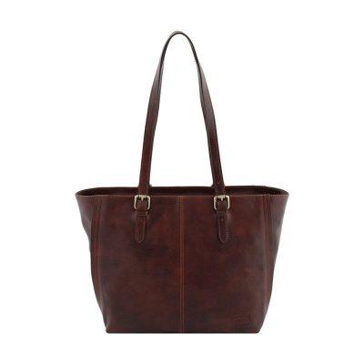 italienische handtaschen leder braun