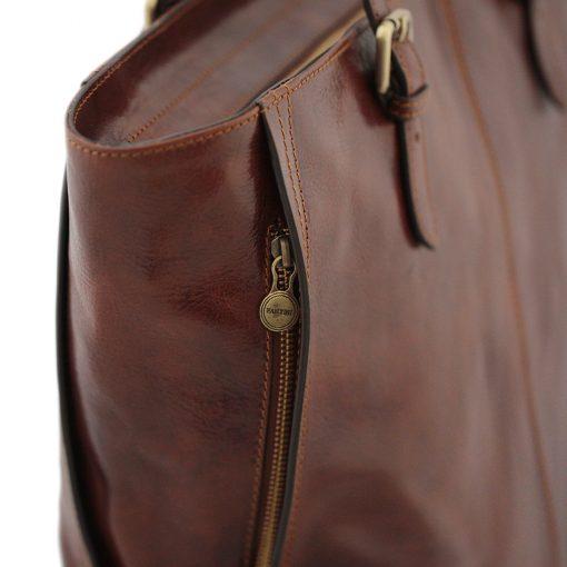 italienische handtaschen leder braun made in italy