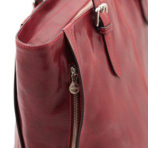 italienische handtaschen leder rot made in italy