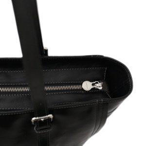 italienische handtaschen leder schwarz lederwaren