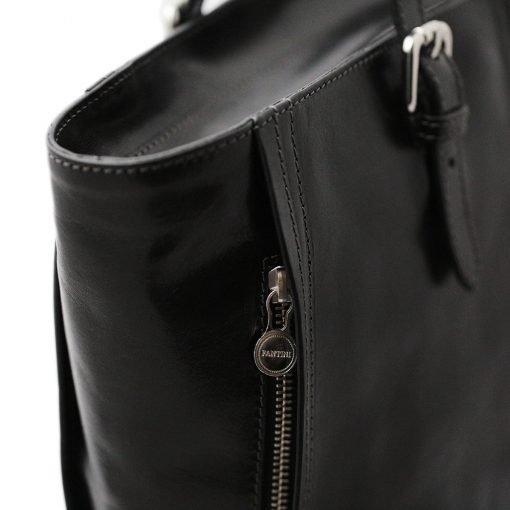 italienische handtaschen leder schwarz made in italy