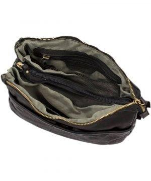 schultertasche leder innentasche