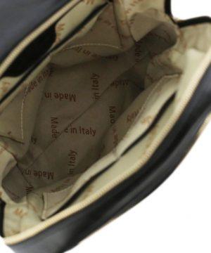 rucksack leder schwarz tuscany innen lederrucksack