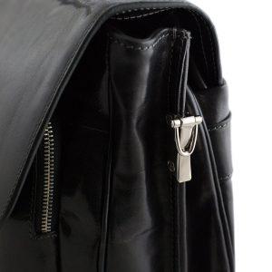 leder aktentasche schwarz italienische mode