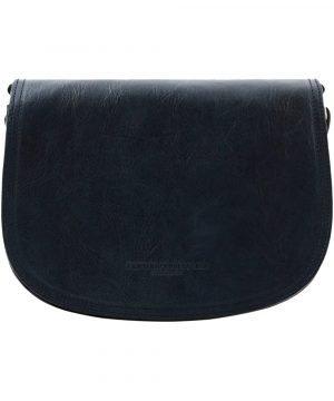lederhandtasche blau