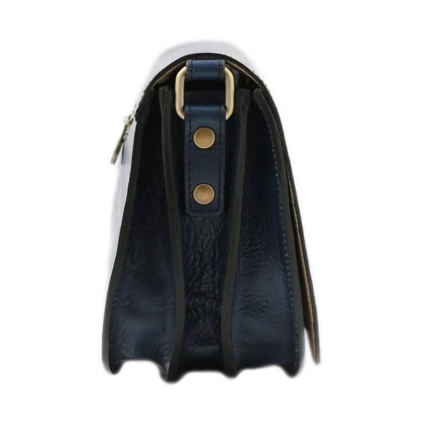 lederhandtasche blau fantini lederwaren
