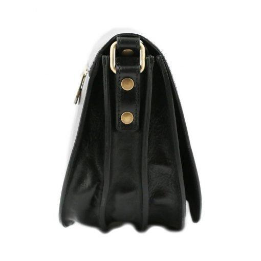 lederhandtasche schwarz fantini lederwaren
