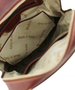 rucksack leder braun tuscany innen lederrucksack