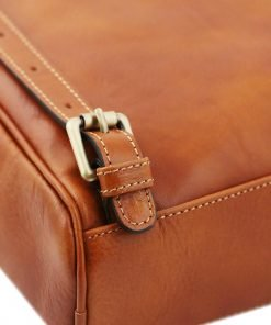 rucksack leder cognac tuscany rucksack detail