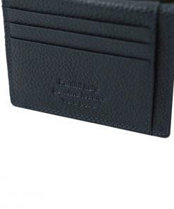 geldbörse herren leder blau kreditkarten