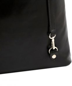 handtasche damen leder schwarz mode