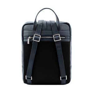 leder rucksack blau damen