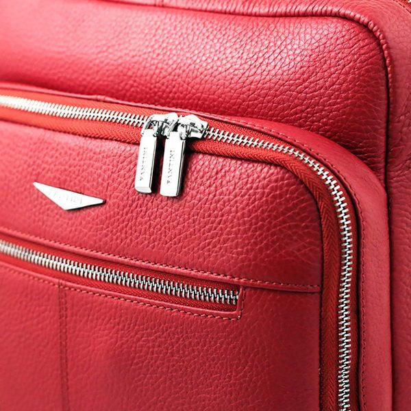 rucksack rot leder