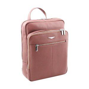 leder rucksack rosa