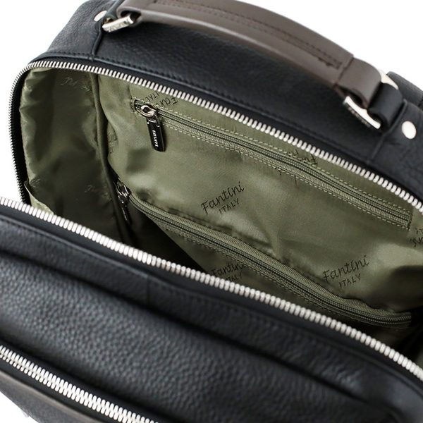 business rucksack leder